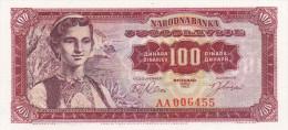 100 Dinara 1963 UNC !!! - Yougoslavie