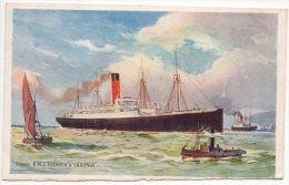 Cunard R.M.S. Ivernia & Saxonia - Steamers