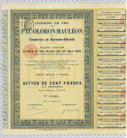 Chemin De Fer De Pau - Oloron - Mauléon Et Tramways De Bayonne - Biarritz - Chemin De Fer & Tramway