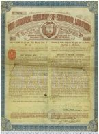 The Central Railway Of Ecuador Limited - Chemin De Fer & Tramway