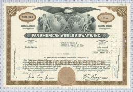 Pan American World Airways Inc. - Aviation
