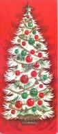 VERY OLD & VINTAGE GREETINGS CARD - IDD MUBARAK - CHRISTMAS GREETINGS - PRINTED IN U.S.A. - Other