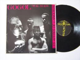 GOGOL + MAU-MAUS LP Vinyle ROCK PUNK Les Affres De L'angoisse EX / EX FRANCE - Punk