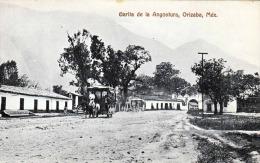 ORIZABA (Mexico) - Garita De La Angostura, Karte Um 1905 - Mexiko