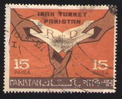 Pakistan 1965 Oblitéré Rond Used Stamp Coopération Iran Turquie Pakistan