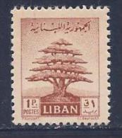 Lebanon, Scott # 248 Mint Hinged Cedar, 1951 - Lebanon