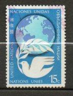 NATIONS UNIES (New York)  15c Multicolore  1978  N°298 - Oblitérés