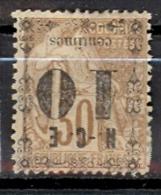 Nouvelle Calédonie  Yvert 12a*; Surcharge Renversée; Cote 22.00€ Voir Scan - Oblitérés