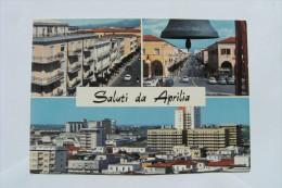 CARTOLINA Di  APRILIA LATINA    VIAGGIATA    A7259 - Aprilia