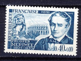 A VOIR!!!** N°1624  De 1970  SCAN CONTRACTUEL RECTO-VERSO - France