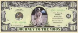 Billet De $11 Dollars émis En 2002 (Apollo 11 - Premier Pas Sur La Lune) - United States Of America