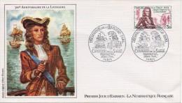 FDC Du 18-12-1982 - Paris - Découverte De La Louisiane (Cavelier De La Salle) - FDC