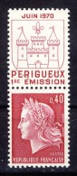 A VOIR!!!** N°1643 De 1970  SCAN CONTRACTUEL RECTO-VERSO - France