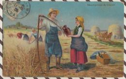 D201 RECOMPENSE DU TRAVAIL  PAYSANS  Coiffe Costume 1905 - Farmers