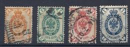 140013237  RUSIA  YVERT  Nº  28/29/30/32 - 1857-1916 Impero