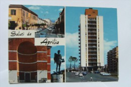 CARTOLINA Di APRILIA LATINA   A7298 VIAGGIATA - Aprilia