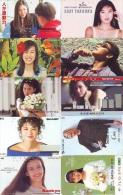 LOT 10 Telecartes Differentes Japon * FEMME Femmes (476) SEXY GIRL Girls Phonecards Japan * TELEFONKARTEN FRAUEN FRAU - Colecciones