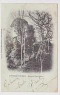 (RECTO / VERSO) MONTFORT SUR RISLE EN 1904 - RUINES DU VIEUX CHATEAU - France