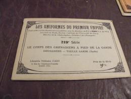 A142..CPA..MILITARIA..ILL USTRATEUR...Le Corps Des Grenadiers à Pied De La Garde Impériale..enveloppe D'origine - Uniformi