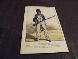 A142..CPA..MILITARIA..ILL USTRATEUR...Le Corps Des Grenadiers à Pied De La Garde Impériale...non Ecrite. - Uniformi