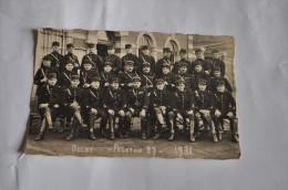Cpa Photo Gendarmerie DECHY -PELETON 87-  1931 - Police - Gendarmerie
