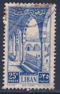 Lebanon, Scott # 282 Used Beit-eddine Palace, 1954 - Lebanon