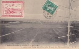 LYON-AVIATION : 1910 -vue Générale Avec Timbre - Other