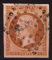 N° 13B - Napoléon  1853 Bien Centré, Losange Gros Points - 1853-1860 Napoleon III