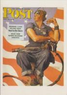 Norman ROCKWELL(1894-1978) : ## Rosie: La Travailleuse / The Riveter / Der Niethammer ## - Illustrateurs & Photographes