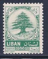 Lebanon, Scott # 405 Mint Hinged Cedar, 1963 - Lebanon