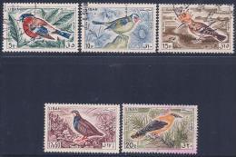 Lebanon, Scott # 434-8 Used Birds, 1965 - Lebanon