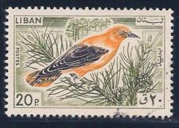Lebanon, Scott # 438 Used Bird, 1965 - Lebanon