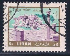 Lebanon, Scott # 446 Used Beit-Mery, 1966 - Lebanon
