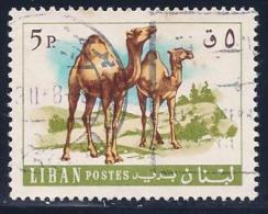 Lebanon, Scott # 456 Used Camels, 1968 - Lebanon