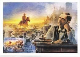 Australia 2014 Bush Ballads 70c Clancy Of The Overflow Maximum Card - Maximumkaarten