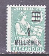 ALEXANDRIA   65  * - Alexandria (1899-1931)