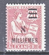 ALEXANDRIA   68  * - Alexandria (1899-1931)