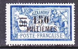 ALEXANDRIA   73  * - Alexandria (1899-1931)