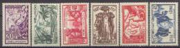 Détail De La Série Exposition Internationale De Paris * Réunion  N° 149 à 154 - 1937 Exposition Internationale De Paris