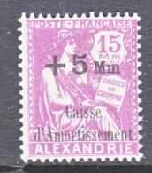 ALEXANDRIA    B 3 A   *   Violet - Alexandria (1899-1931)