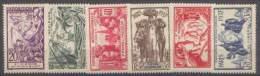 Détail De La Série Exposition Internationale De Paris * Saint Pierre Et Miquelon N° 160 à 165 - 1937 Exposition Internationale De Paris