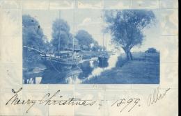 France - River - Boats - 1899 - Frankreich