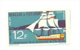 31   200éme Anniversaire  De La Découverte De L'ile Wallis   Non Dentelé Luxe   (191) - Poste Aérienne