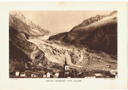 Glacier29cm  X  20 Cm  Clichè  A . Demangeon     F.M  365 - Photography
