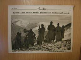 Austro- Hungarian Army - Musicians Musiker Tirol Tiroler Berge  -  WWI-grande Guerre 1916-18 -   W58 - Militares