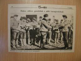 Hungarian Hussars At Battlefield  Poland Ukraine Russia ? -  WWI-grande Guerre 1916-18 -   W65 - Militares