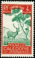 NUOVA CALEDONIA, NEW CALEDONIA, FRENCH TERRITORY, SOVRATASSA, 1928, FRANCOBOLLO NUOVO (MNG), Mi P20, Scott J20, T27 - New Caledonia