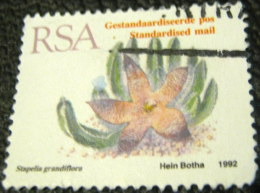 South Africa 1993 Succulents Stapelia Grandiflora 45c - Used - Used Stamps