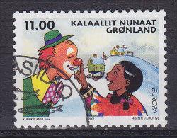 Greenland 2002 Mi. 385    11.00 Kr Europa CEPT Zirkus Circus Clown - Usati