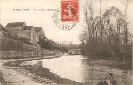 89 - SAINTE VERTU,  LE MOULIN ET LA POTERNE - ECRITE 1912